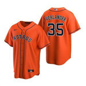 Houston Astros Justin Verlander Jersey orange